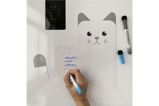 Magnetisch whitebord Meow! 31,5x33cm