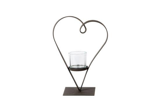Windlicht Heart Diana H40cm