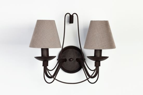 Wandlamp roest E14