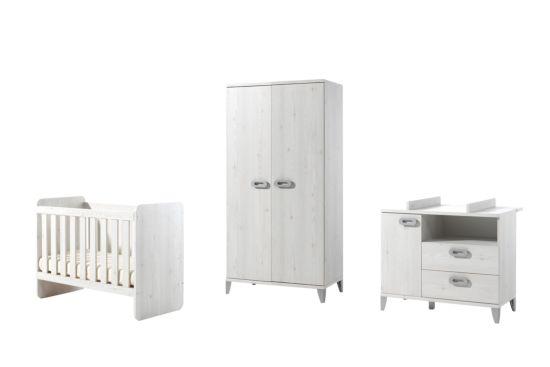 Babykamer Liv met 2-deurs kast