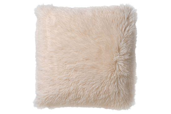 Kussen Fluffy 60x60cm snow white