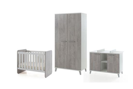 Babykamer Stef met 2-deurskast