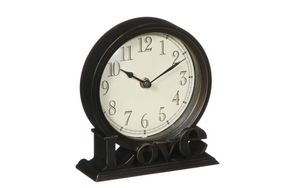 Klok Love 19x17cm