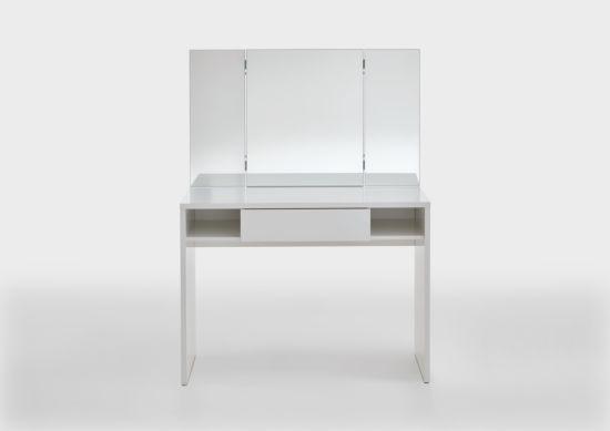 Make-up tafel Schminki met spiegel 100x41,5x136cm