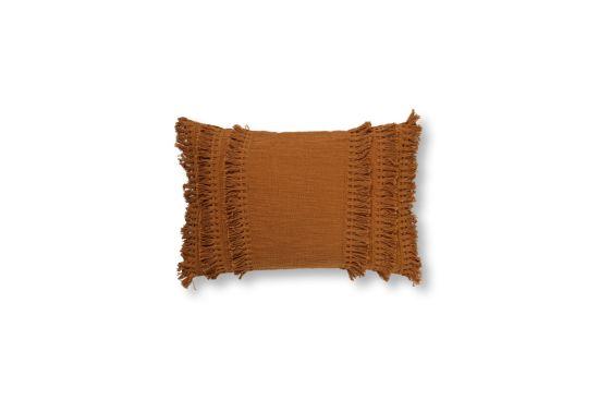 Kussen Fara 60x40cm tobacco brown