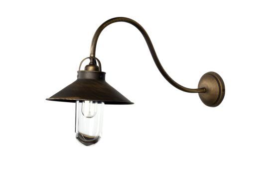 Wandlamp buiten Brons 60W E27