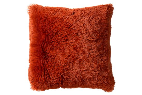 Kussen Fluffy 60x60cm potters clay