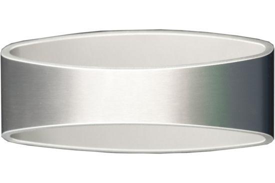 Wandlamp geborsteld aluminium 5W