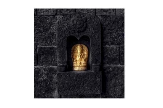 Foto op canvas Ganesha 70x70cm