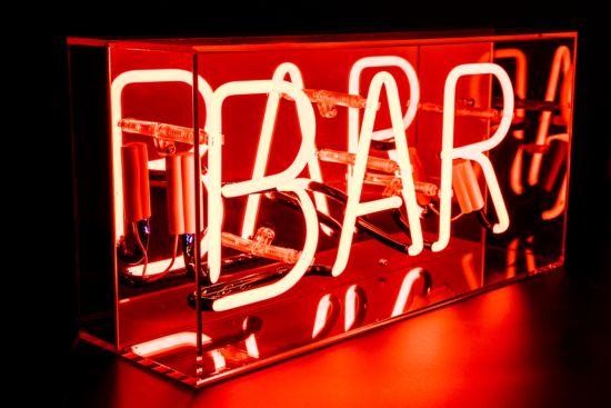 Neon lamp Bar H22cm