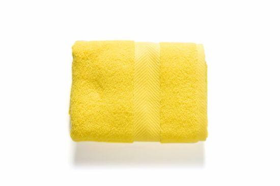 Washandje Royal Touch 16x22cm lemon