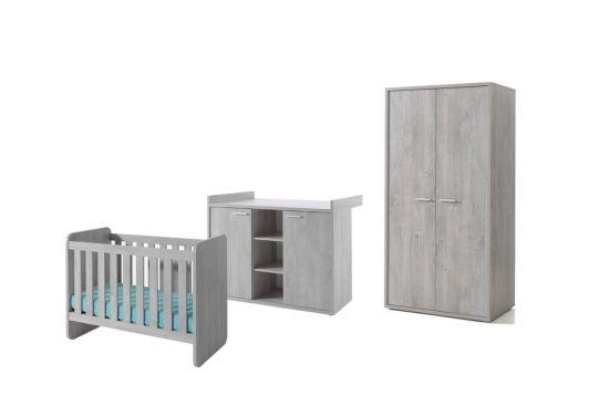 Babykamer Vic met 2-deurs kast