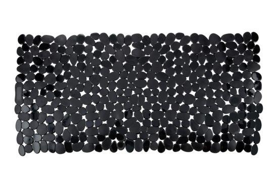 Antislip badmat Paradise 36x71cm zwart