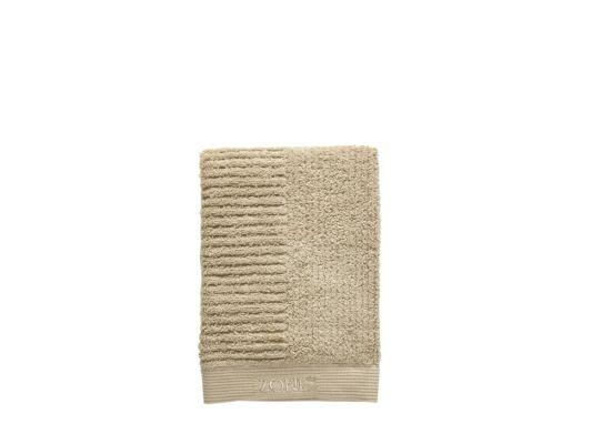 Handdoek 50x70cm warm zand
