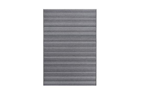 Buitentapijt Brighton 160x230cm flatweave bruin grijs