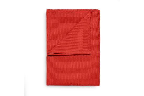 Plaid 240x260cm fiery red