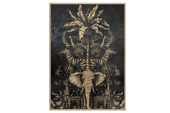 Foto met kader Exotic 62,6x92,6cm