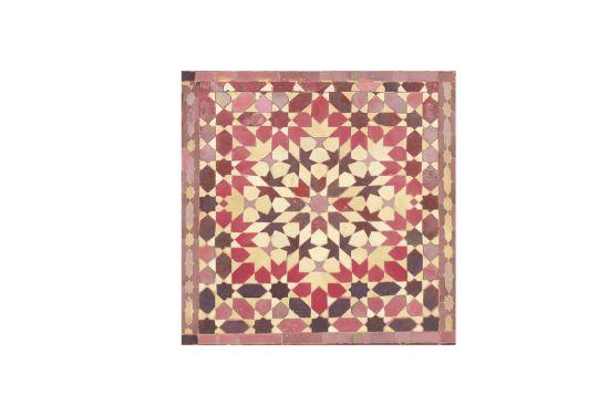 Servet Oriental Puder 33x33cm roze 20 stuks