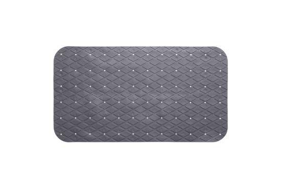 Antislip badmat 69x39cm grijs