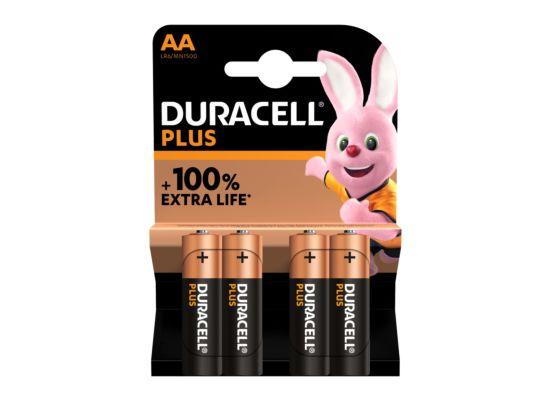 Batterij Duracell alka optimum AA 1,5V