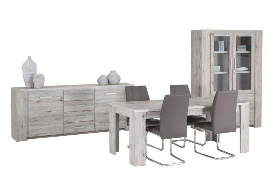 Eetkamer Elite met 4 stoelen Duras