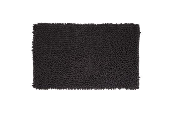 Badmat Maxi Chenille 50x80cm zwart