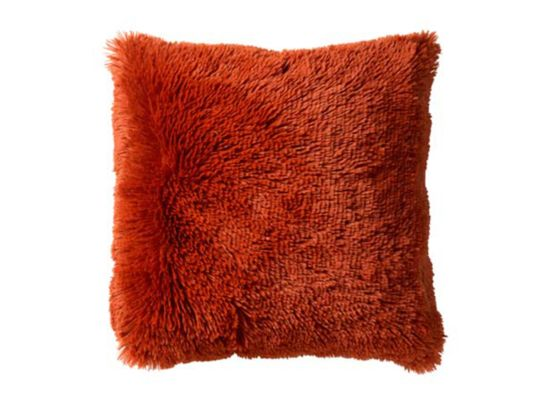 Kussen Fluffy  45x45cm potters clay
