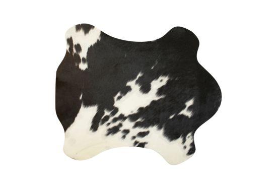 Placemat Koe 30x48cm zwart wit