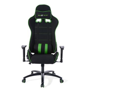 Gaming chair Norris zwart groen