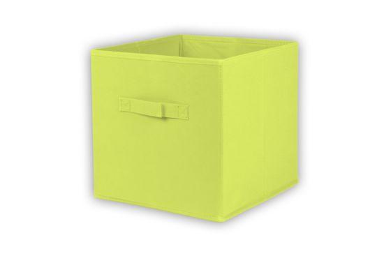 Opbergbox Moby 27,5x27,5x29cm groen
