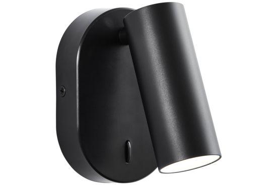 Wandlamp Soeren Zwart 4,5W