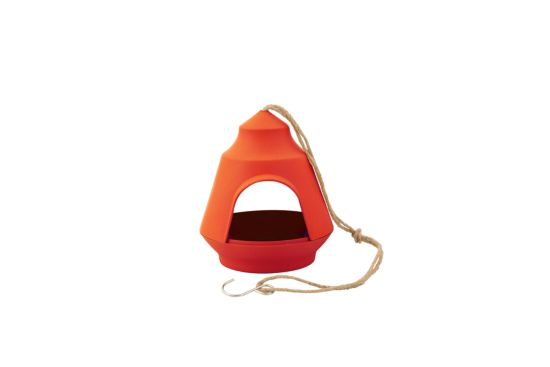 Voederhuisje oranje