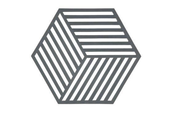 Pannenonderzetter Hexagon 16x14cm