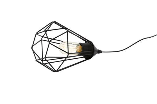 Tafellamp Tarbes E27 Ø17,5xH26,5cm zwart