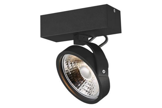 LED spot 12W AR111 zwart