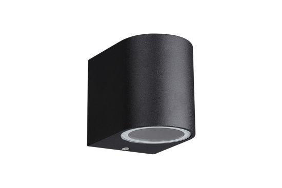 Wandlamp zwart 35W GU10