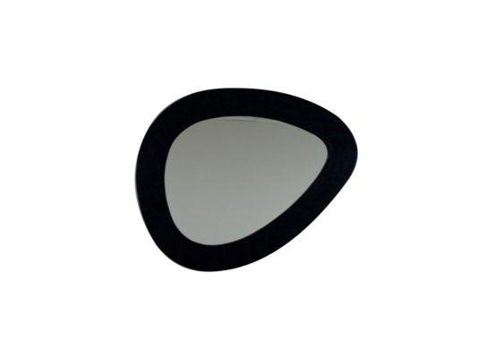 Spiegel Uovo 108x82cm zwart