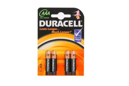 Batterij Duracell AAA 1,5V