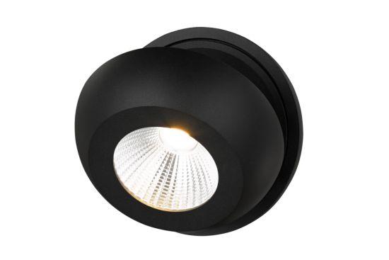 LED spot 7W zwart