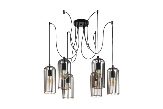 Hanglamp Roccamena 130x13cm 6x60W E27