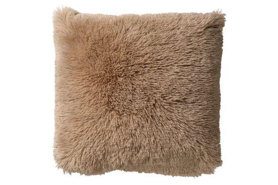 Kussen Fluffy 60x60cm pumice stone
