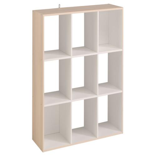 Rek cube acacia 91x29x91cm weba meubelen - Cube nachtkastje ...