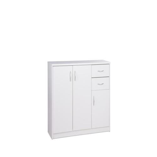 Armoire kiel 2 109x35x85cm armoires d 39 appoint weba meubles for Salle a manger weba