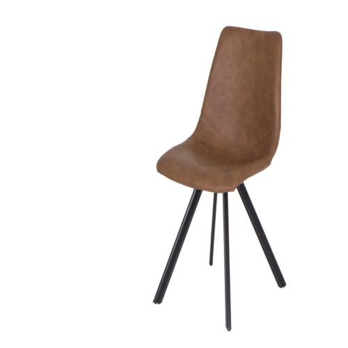 chaise frantz cognac weba meubles. Black Bedroom Furniture Sets. Home Design Ideas