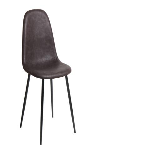 Chaise dust brune chaises weba meubles for Salle a manger weba