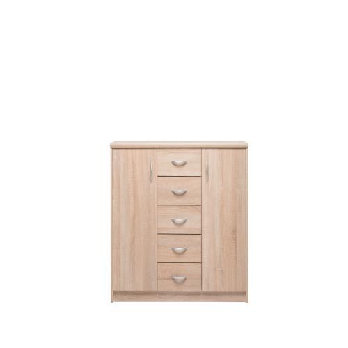 Armoire kiel 8 109x35x85cm armoires d 39 appoint weba meubles for Salle a manger weba