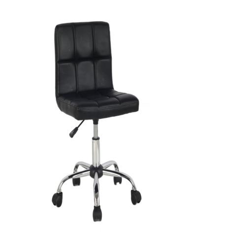 Chaise de bureau siro noir weba meubles for Meuble bureau weba