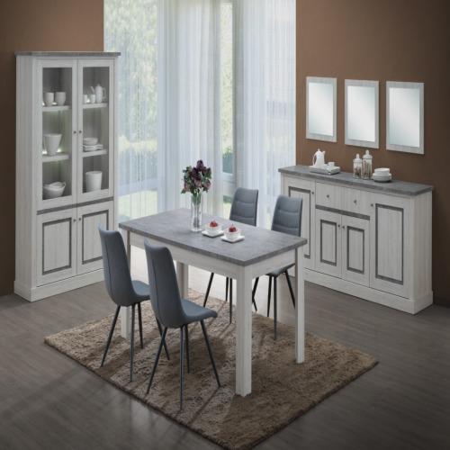 salle manger emma avec 4 chaises weba meubles