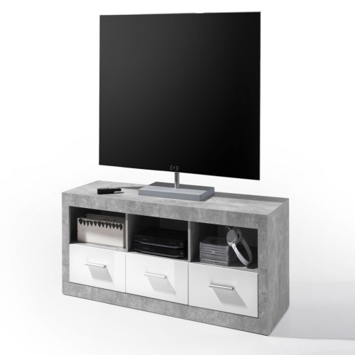 Meuble tv stone 147cm weba meubles for Meuble tv stone