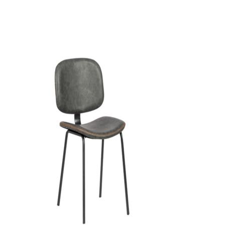 Chaise carbon gris chaises de salle manger weba meubles for Salle a manger weba